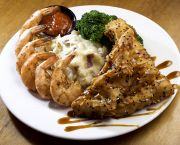 Steamed Shrimp And Mahi Mahi - The Oceanfront Grille