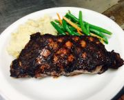 New York Strip (12 Ounces) - Mike Dianna's Grill Room