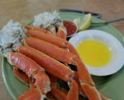 Steamed Crab Legs - Uncle Ike's Sandbar & Grill