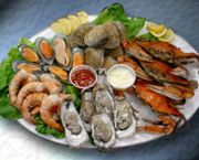 Seafood Sampler (Steamed) Platter - Fat Crabs Rib Company