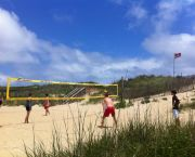 A Game Of Volleyball - Ocean Atlantic Rentals