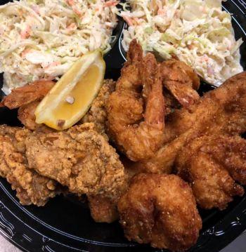 Fat Crabs Rib Company Corolla NC Restaurant, Big Fried Combo