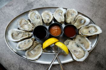 North Banks Restaurant, Hand Shucked Regional Oysters