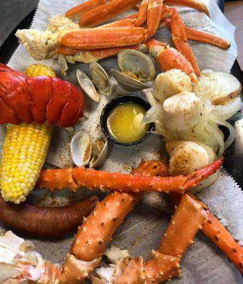Fat Crabs Rib Company Corolla NC Restaurant, The Captain