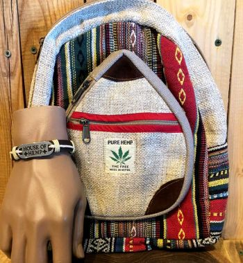 Enter to Win: Pure Hemp Bag + Bracelet