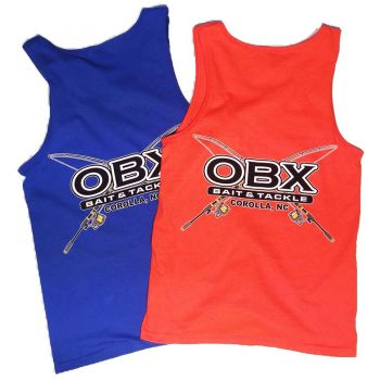 OBX Bait and Tackle Corolla Outer Banks, Tank Tops
