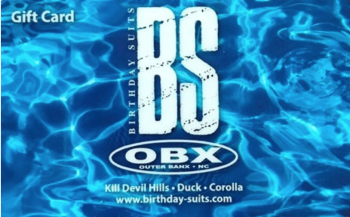 Birthday Suits, Gift Card $25-$200