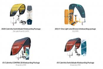 Kitty Hawk Kites, Kiteboarding Packages