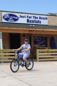 Rent bikes at Just For the Beach Rentals