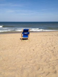 Beach chairs for rent at Just For the Beach Rentals