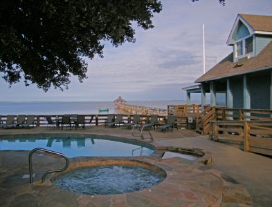 Whirlpool, pool at Inn at Corolla