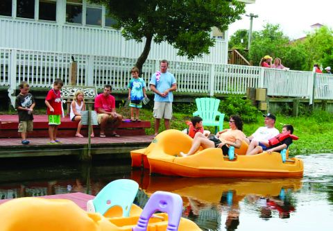 Corolla Water Sports, Paddle Boat Rentals